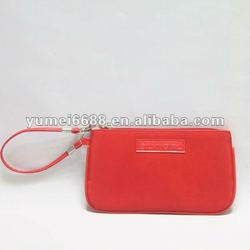 Tote red cell phone bag