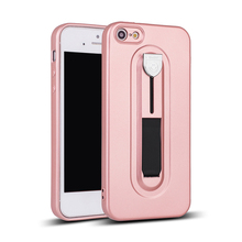 Back cover mobile case for iphone 5 soft TPU protective phone case with ring case