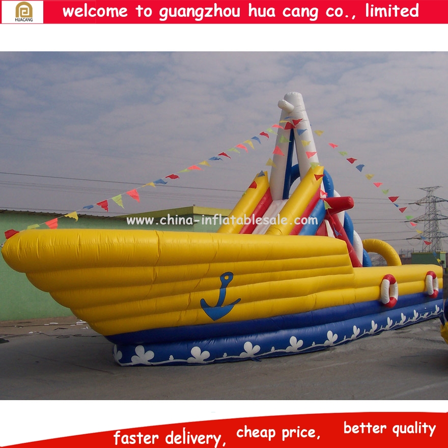 2015 Best selling warship inflatable bouncer games inflatable bouncy castle for sale