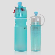 new item 2016 tritan sports drink bottle air compressed mist spray water bottle