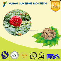 Crude medicine hemostyptic dried panax notoginseng root