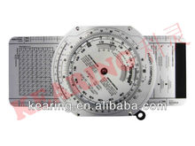 Kearing OEM aviation air speed circle calculater, round wheel E6B flight computer, air navigation computer#KCR-3