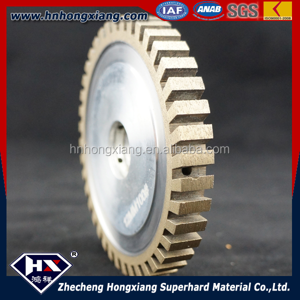The most popular cnc tooth wheel /diamond profile grinding wheel