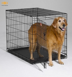 Made in China factory direct sale foldable iron dog cage hot sale