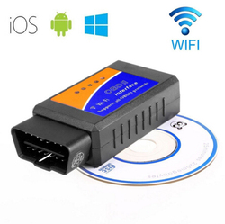 WIFI ELM327 Scanner Wireless OBD2 Auto Scanner Adapter ELM327 WIFI Scanner Scan Tool for iPhone ipad iPod
