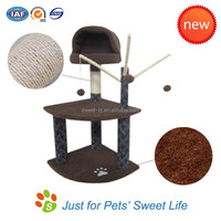 Sweet Cat Tree House Scratching Cardboard Toy