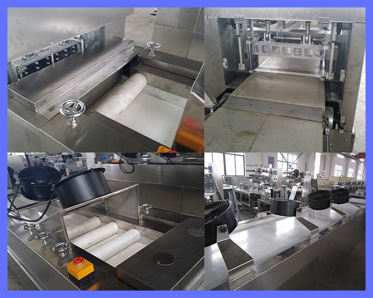 New Arrival PLC Control Crisp Granola Bar Forming Production Line