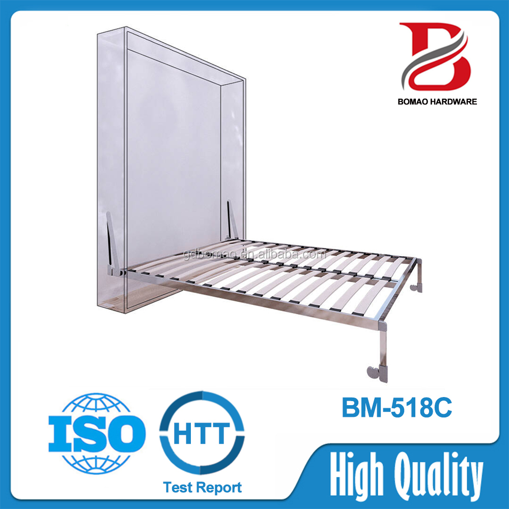 1500*2000mm modern hydraulic lift twin wall bed