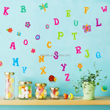 Creative Cute Cartoon Removable Alphabet early education Wall Stickers Living Room Kids Bedroom Home Decor House JM8321