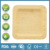 natural compostable bamboo plate for dinner