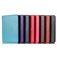 For Kindle Voyage 2014 Model Book Style Leather Smart Case Cover