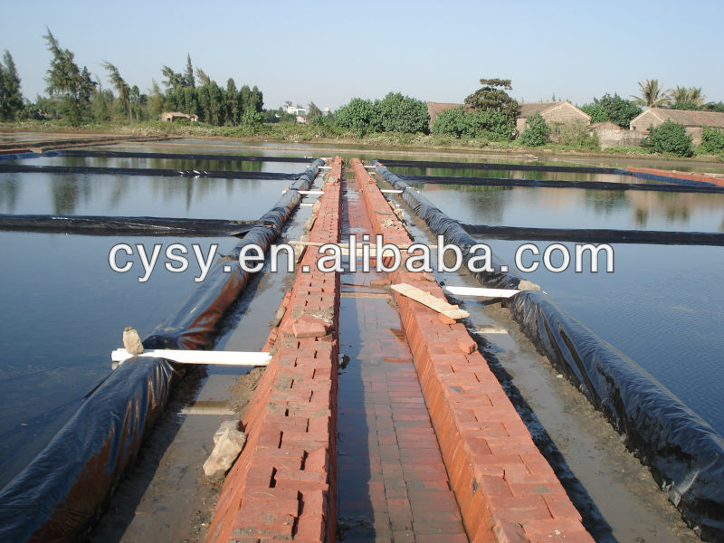 new design waterproof membrane for artificial lakes, rivers, reservoirs