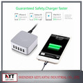 5V 7.8A 40W SAA C-TICK approved charger 5USB Charger KC certificate USB Charger for phone