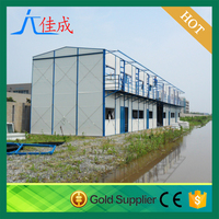2016 china Insulated Prefab Modular Container Van Style House & Office / Prefab House, Insulated Sandwich Panel, Steel Frame