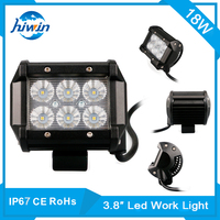 Hiwin 18w 3.8inch led construction worklight atv/special vehicle led work light HW-B318