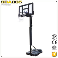 portable indoor/outdoor foldable basketball game equipment