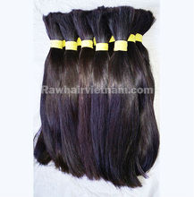 Realy hair virgin cut from young girl from viet nam