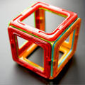 Magformers DIY Toys Plastic Magnetic Buidling Game Puzzle
