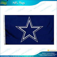 polyester NFL 3x5ft Dallas cowboys flags