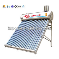 stainless steel non pressurized solar heater water&solar energy system