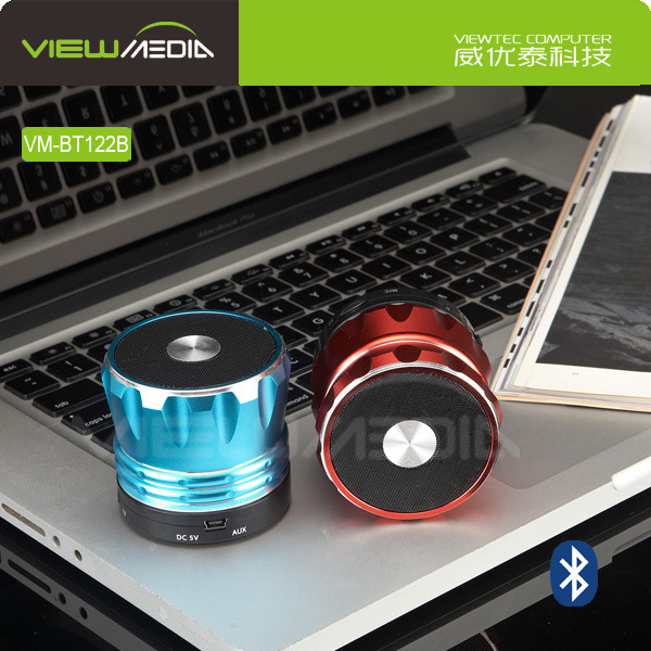 MINI portable bluetooth dwarf vibration speaker for mobile phone VM-BT122B