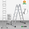 4x3 Multi Purpose Folding Aluminium Ladder