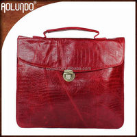 Womens tote leather western briefcase