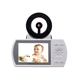 2018 Newest Night Vision Two-way Audio 220V 3.5 Inch PTZ Wifi Nanny Video Baby Monitor
