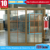 wooden color PVC sliding window/wood grain