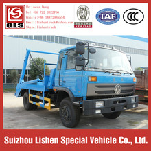 Dongfeng Garbage Transport Vehicle Good Hydraulic System Swing Arm Garbage Truck