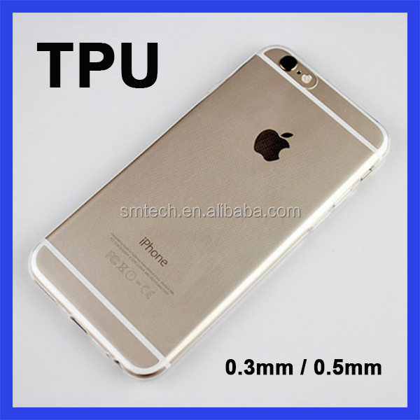 Factory Price TPU Back Phone cover Case for iPhone 7 Case Transparent