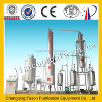 Hot Sale New technology waste oil distillation plant to high quality diesel oil