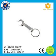 promotion gifts Wrench tool bottle opener keychain