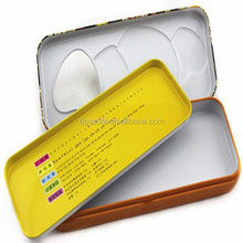 New style unique fashion lovely pen tin case