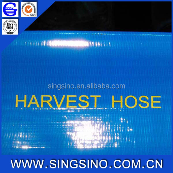 Nigeria Harvest PVC Lay Flat Hose For Irrigation