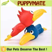 Natural Latex Rubber Chicken Pet Toy, Soft Rubber Dog Toy, Squeaky Natural Rubber Toys for Dog