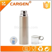 Yoga gym necessity 480ml stainless steel thermos bottle with cup cap