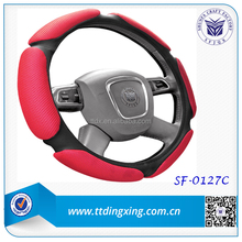 Popular Fashionable Women accessories winter steering wheel covers car wheel protection ring for warm winter from China