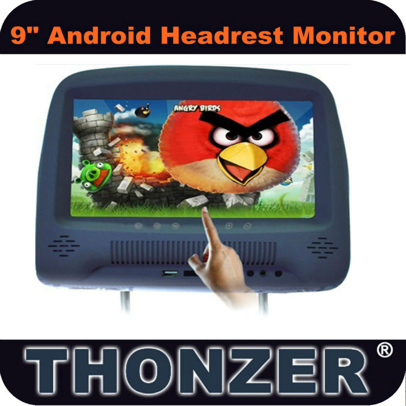 9 inch New and Hot Android Car Headrest Monitor