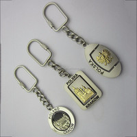 New Product Metal Rotating Key Chain