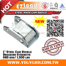 [EZ LOAD] NEW No Porosity Metal 680 KGS 25 mm 1 Inch Cam Buckle