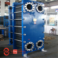 heat transfer Gasketed detachable stainless steel titanium plate heat exchanger