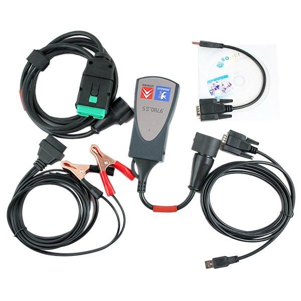 Lexia 3 программное обеспечение загрузки citroen/peugeot obdii сканер PP2000 lexia3 полный чип Lexia-3 diagbox диагностический инструмент с самым лучшим ценой