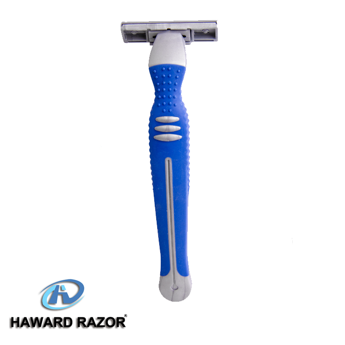 D226L twin blade razor knife face shaving tools