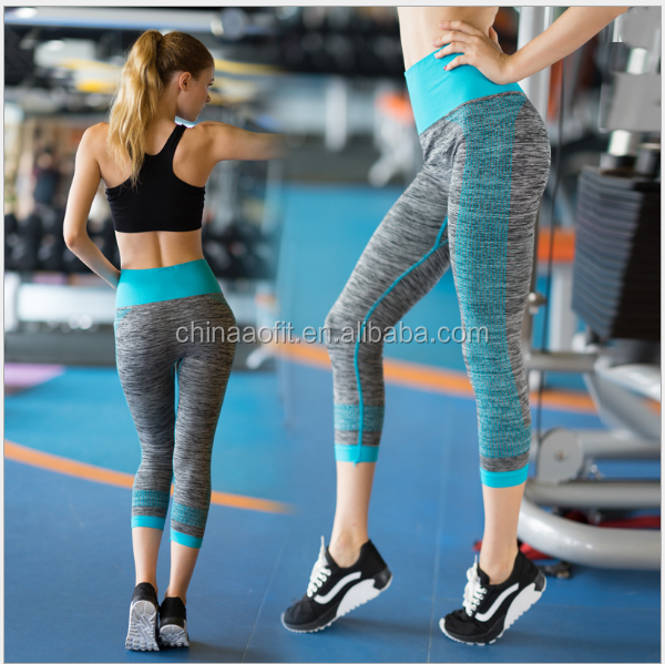 Active Wear Women's Flexible Exercise Pants/Leggings Factory Supply
