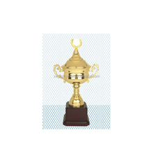 Luxury Design Metal Gold Trophy Cup for Sports Awards