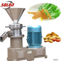 machine manufacturers sesame paste grinding machine low price and high quality