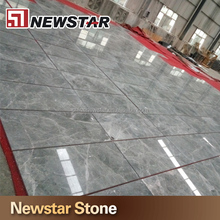 China stone silver grey mink marble stone tile