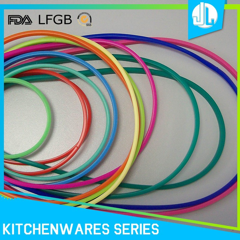 Sealing cheap high quality food grade silicon colored o-rings