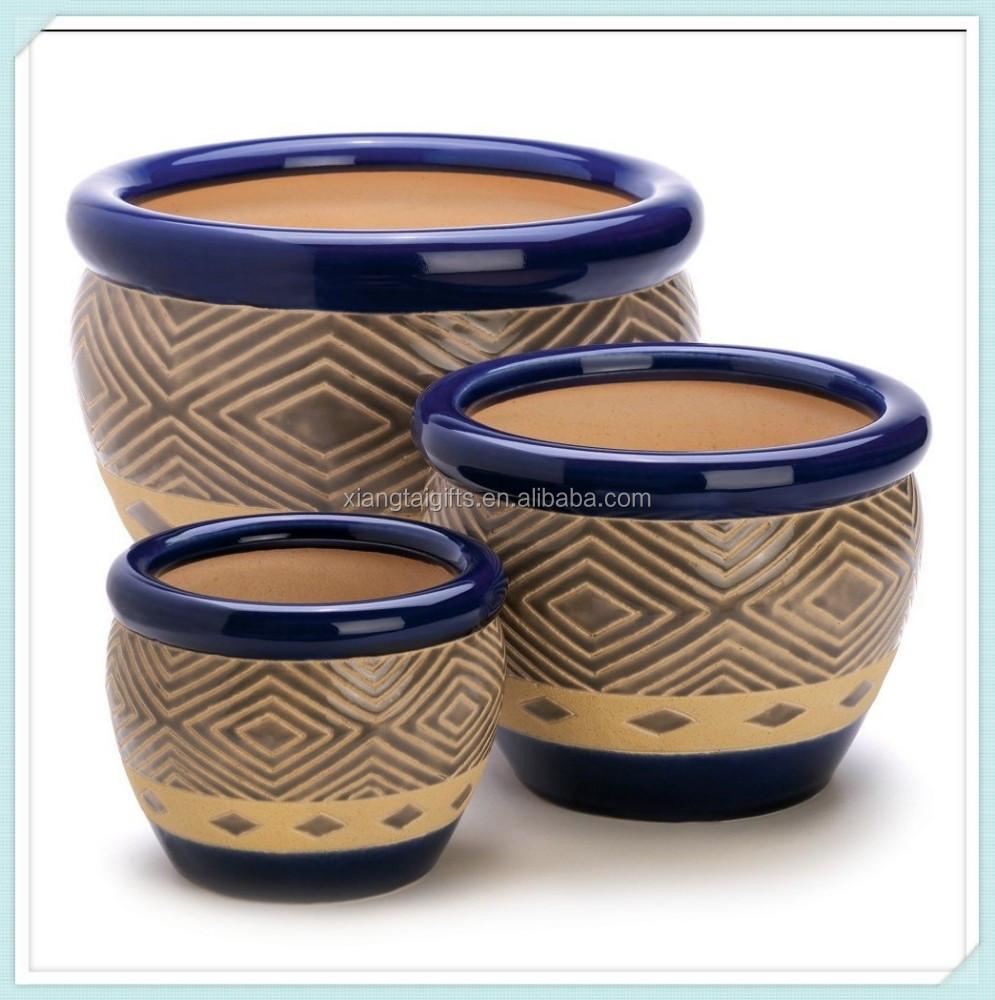 Garden ceramic flower pot wholesale buy ceramic flower for 6 ceramic flower pots